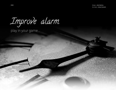 Improve alarm mobile app