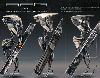 AEG27 Peacemaker Nuthin' But Mech 4 Design process