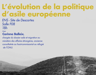 Poster conférence ItinérENS