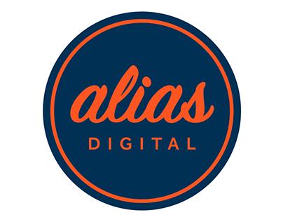 Alias Digital logo design