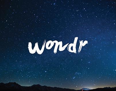 Wondr - Brand Identity