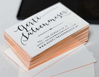 Business Cards—Gerti Salvenmoser