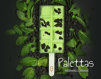 WebWall- Palettas