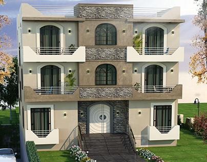 Villa Post Modern