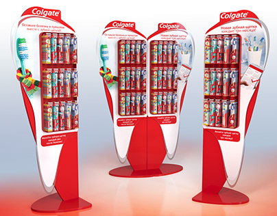 Colgate display