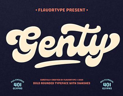 Genty Script - Free To Try