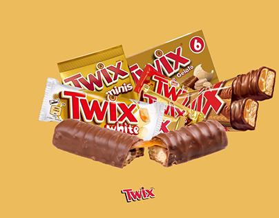 Twix UI/UX Chocolate Design