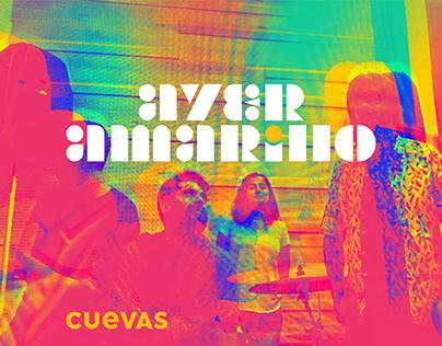 AYER AMARILLO / CUEVAS cover artwork