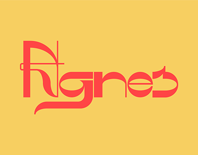 Agnes - A display font