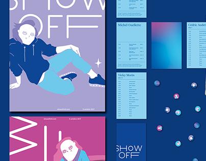 Show Off 2017 | Branding événementiel