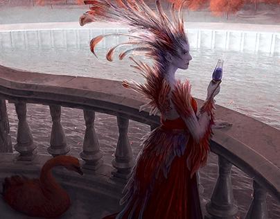 Monte Cook Games - Invisible Sun illustration