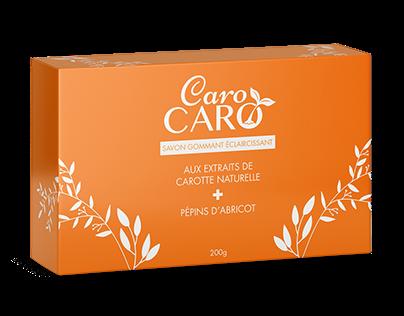 Marque Caro-Caro Conception logo & packaging