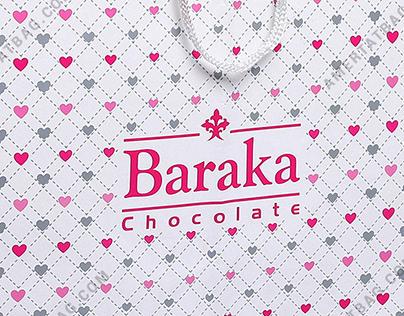 ساک دستی شکلات باراکا Amertatbag.com