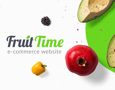 FruitTime | E-commerce website & iOS App