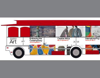 Philadelphia Museum of Art bus