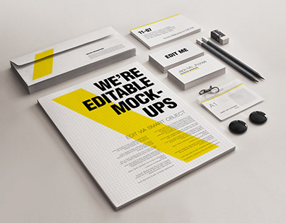Stationery/Branding Mock-ups Set 3