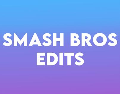 Smash Bros Edits