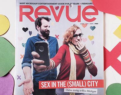 Revue Magazine | Love Issue cover