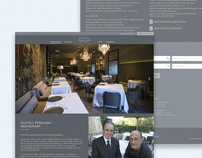 Web Restaurante Estrella Michelin