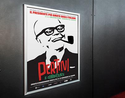 """MOVIE POSTER // """"Pertini il combattente"""""""