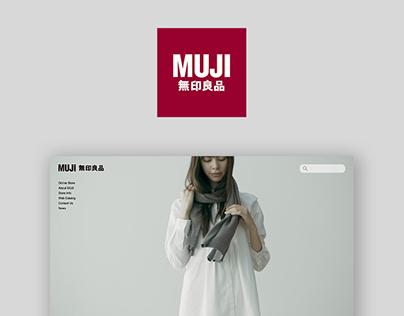 MUJI US - Web Redesign