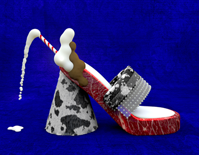 PAMPER SHOES: PARTY IN YOUR MOUTH EDITION