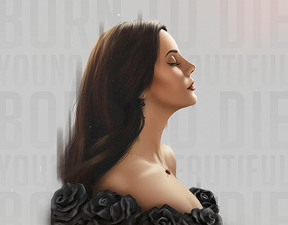 Lana Del Rey Art Portrait