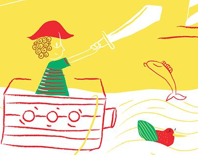 Ilustración | LIJ Floreciendo Cuentos