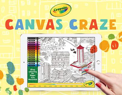 Canvas Craze | Crayola