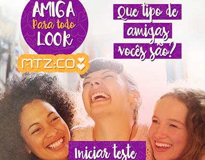 MTZ - Aplicativo para Facebook - Dia da Amiga