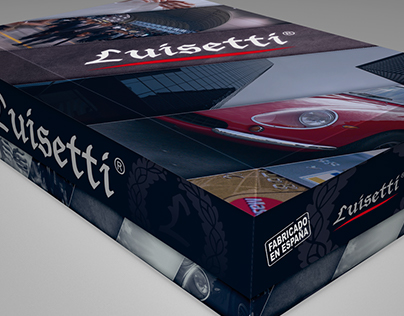 Packaging calzado Luisetti