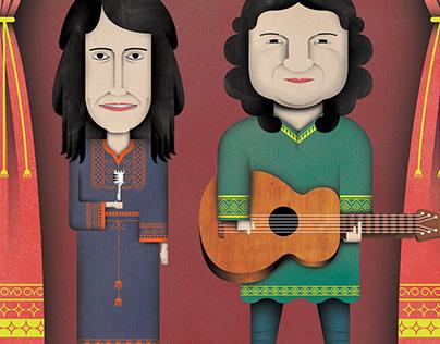 Zeb and Haniya Concert Poster