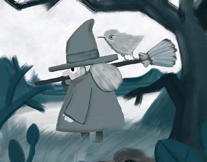 Lil witch and the birds with no wings