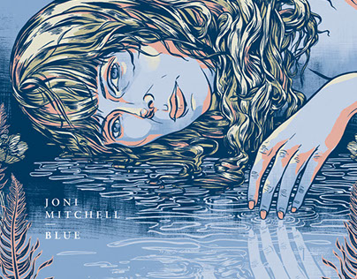 JONI MITCHELL'S BLUE | Polaris Prize Poster