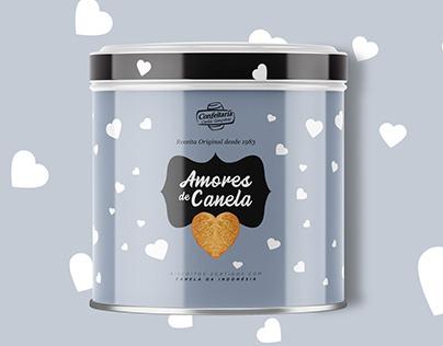 Valentine's Day packaging design Biscuit Box