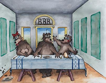 Three Bears' Last Supper