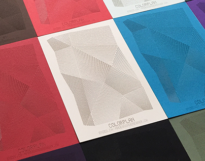 COLORPLAN promotion cards