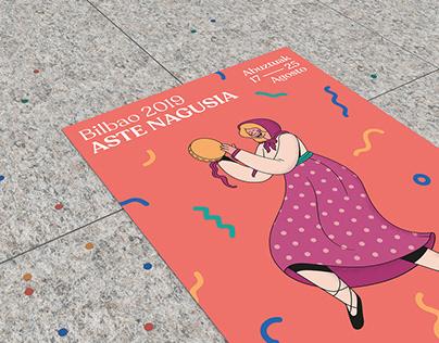 Aste Nagusia – An alternative poster