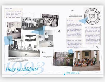 25 éves az Országos Ifjúsági Anyanyelvi Tábor kiállítás