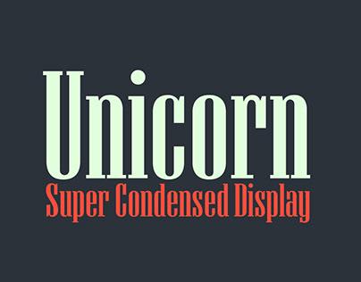 Unicorn — Display Font