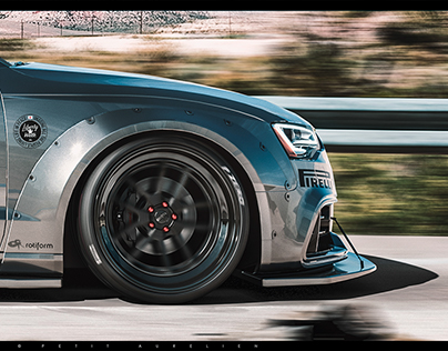 AUDI RS5 2014 LIBERTY WALK