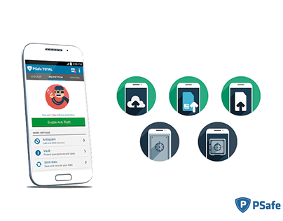 Icon set PSafe Total