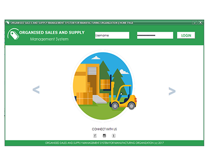 SALES & SUPPLY MGT SYSTEM FOR MANUFACT. ORGANIZATION