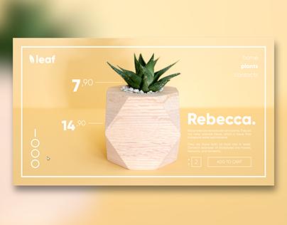 UI Collection #4 - Responsive Plants