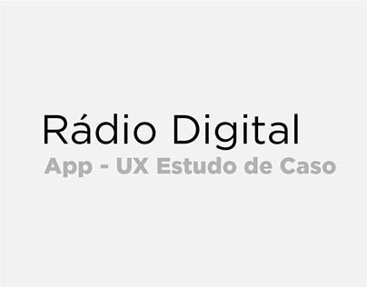 RÁDIO DIGITAL - UX