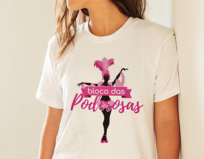 T-Shirt | Lolita Boutique - Bloco das Poderosas