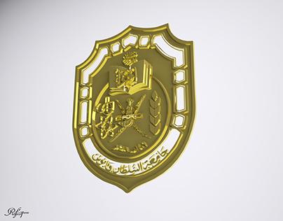 Sultan Qabos University Logo Modeling