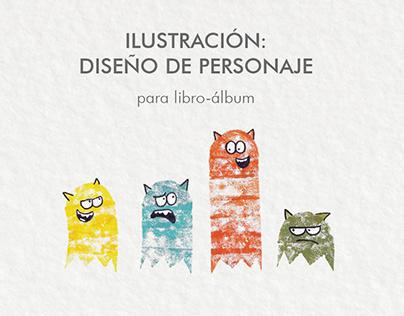 Libro álbum: Ilustración & Diseño de personaje