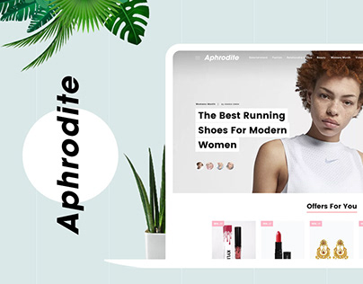 Aphrodite - Lifestyle Website for Women