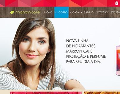 Loja virtual - Marron Café